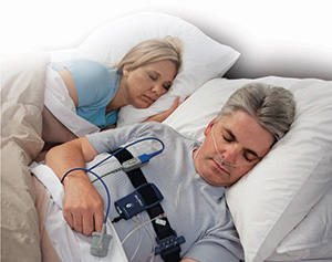 at home sleep study machine