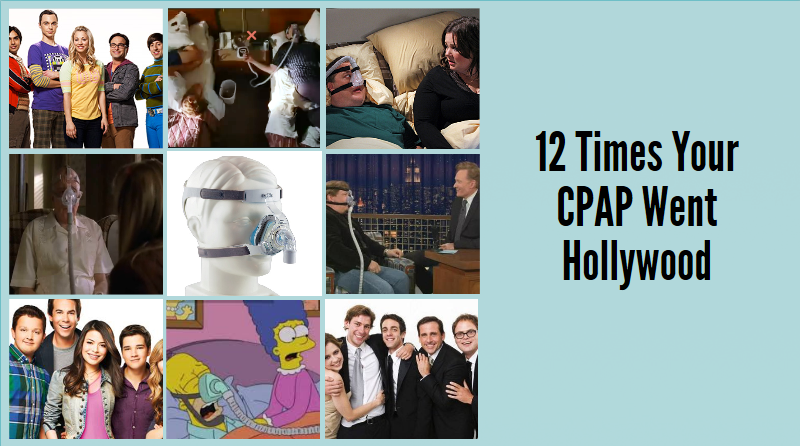 CPAP in Television and Movies