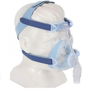 DeVilbiss EasyFit SilkGel Full Face CPAP Mask with Headgear