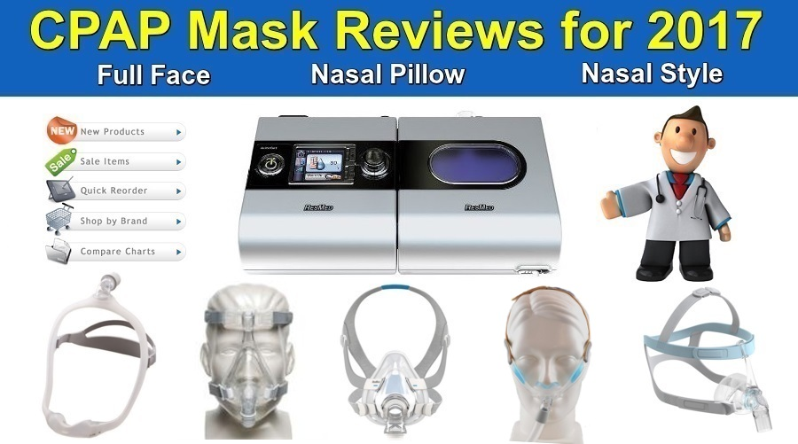 CPAP Mask Reviews for 2017