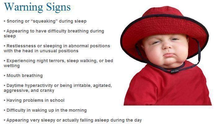 objective sleep apnea in children