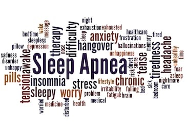 sleep apnea collage