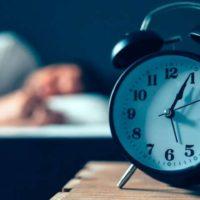 clock while asleep